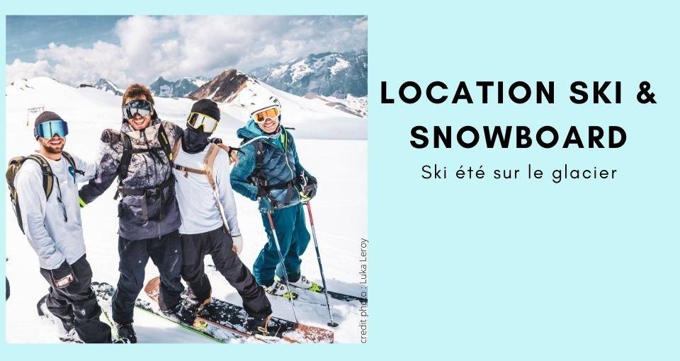 Location ski glacier 2 Alpes
